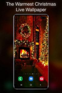 Christmas Fireplace Live Wallpaper by Live Wallpapers HD1