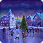 Christmas Rink Live Wallpaper by 7art Studio