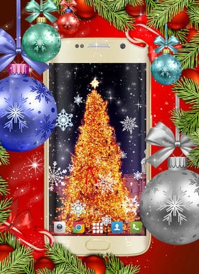 Christmas Wallpapers Xmas Tree Live Wallpaper by HD Live Wallpapers and Clocks2