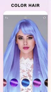 Fabby Look - hair color changer & style effects1