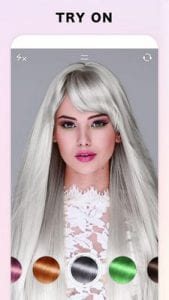 Fabby Look - hair color changer & style effects2