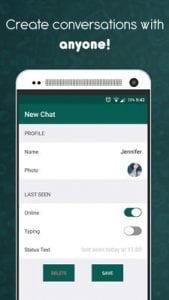 Fake Chat Conversations - WhatsMessage2