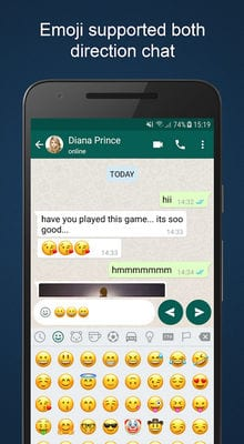 Fake Chat Maker - WhatsMock Prank chat1