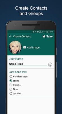 Fake Chat Maker - WhatsMock Prank chat2