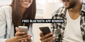 Free Bluetooth App Senders