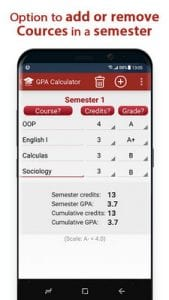 GPA Calculator - High School GPA Calculator1
