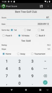 Golf Handicap Calculator Tracker Free-World Rules1