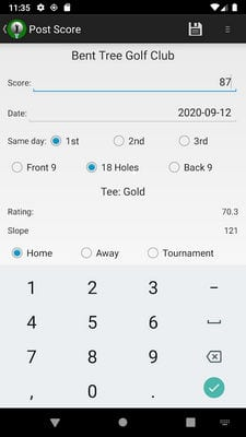 Golf Handicap Calculator Tracker Free-World Rules1