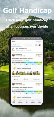 Golf Handicap, GPS, Scorecard - My Online Golf Club2