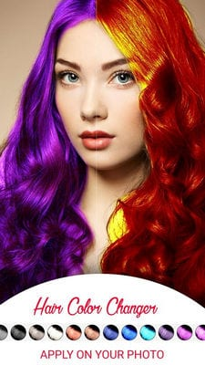 Hair Color Change Photo Editor by Devkrushna Infotech2