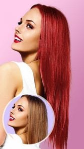Hair Color Changer Change your hair color booth1