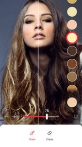 Hair Color Changer Change your hair color booth2