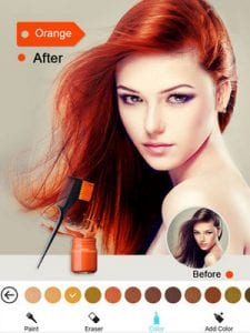 Hair Color Dye - Switch Hairstyles Wig Photo Makeup1