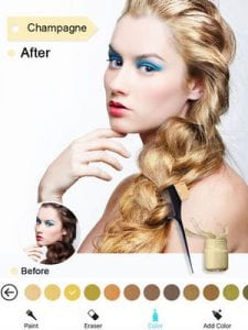 Hair Color Dye - Switch Hairstyles Wig Photo Makeup2