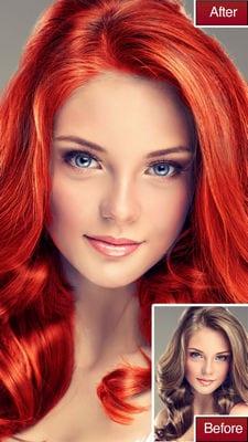 Hair Color Lab Change or Dye2