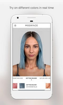 Hair Color by ModiFace2