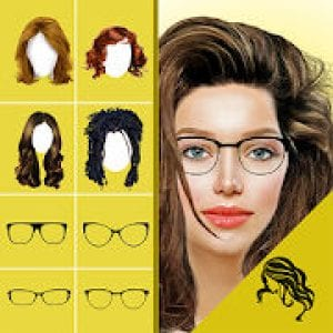 Hairstyle Changer app, virtual makeover women, men by Mettletech