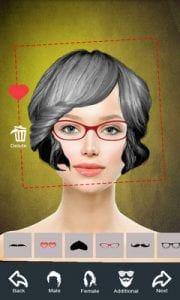 Hairstyle Changer app, virtual makeover women, men by Mettletech1