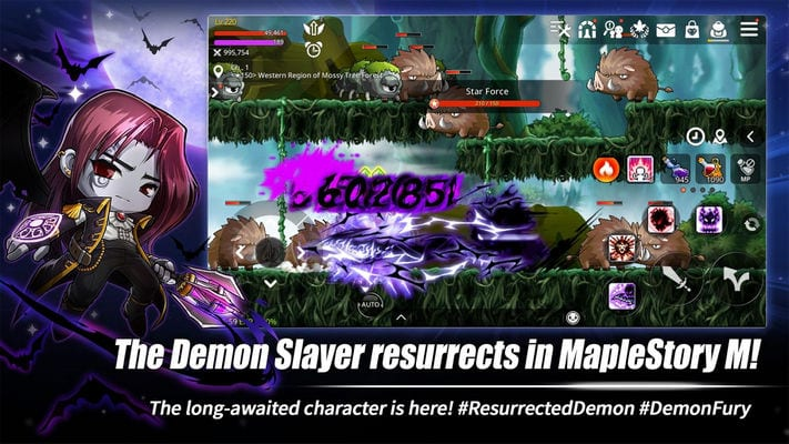 MapleStory M - Open World MMORPG1