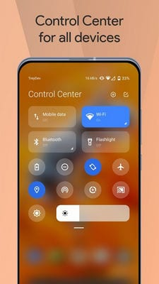 Mi Control Center Notifications and Quick Actions1