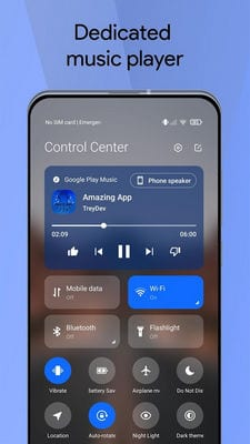 Mi Control Center Notifications and Quick Actions2