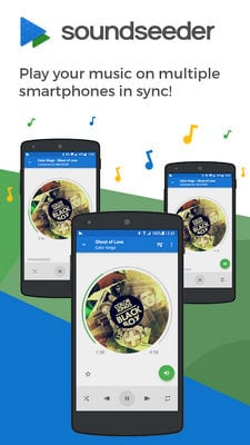 SoundSeeder -Play music simultaneously and in sync1