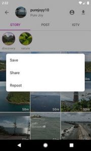 Story Saver for Instagram - Assistive Story by Pure Joy1