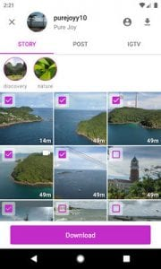Story Saver for Instagram - Assistive Story by Pure Joy2