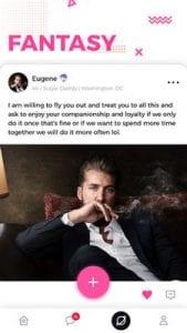 Sugar Daddy Meet & Dating Arrangement App - SD1