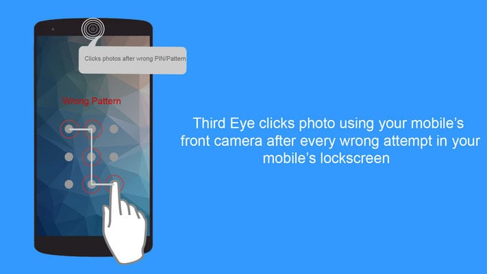 Third Eye - Find Who Tries to access your mobile1