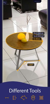 AR Ruler App - Tape Measure & Camera To Plan1