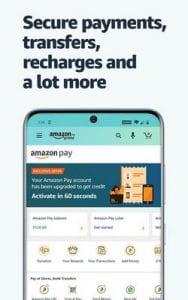 Amazon Shopping, UPI, Money Transfer, Bill Payment2