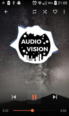 AudioVision Music Player1