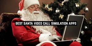 Best Santa Video Call Simulation Apps