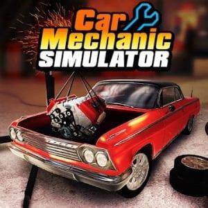 Car Mechanic Simulator 18 logo