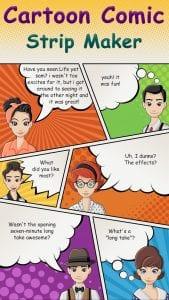 Comic Cartoon Story Maker screen 1