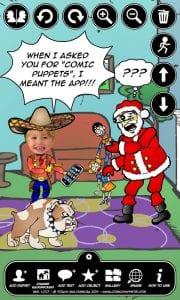 Comic Puppets Lite screen 1
