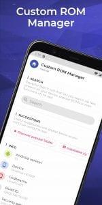 Custom ROM Manager screen 1