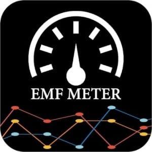 EMF detector and Emf meter logo