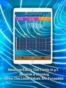 Electromagnetic Detector EMF screen 1