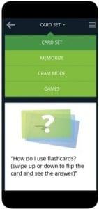 Flashcards with Cram 1