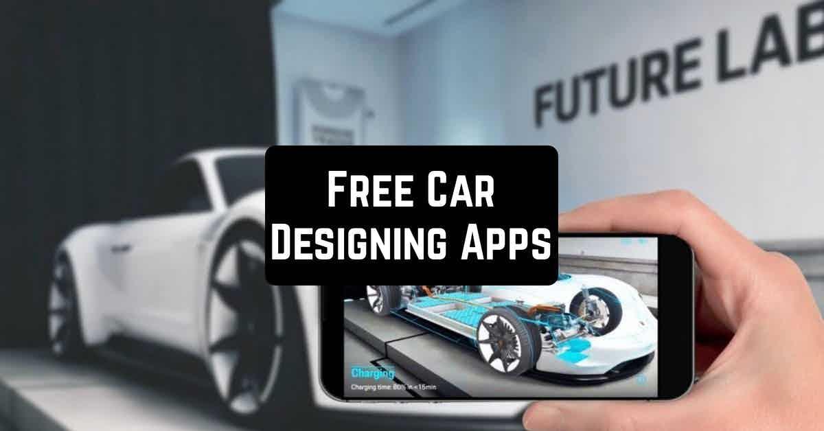 Free Car Designing Apps