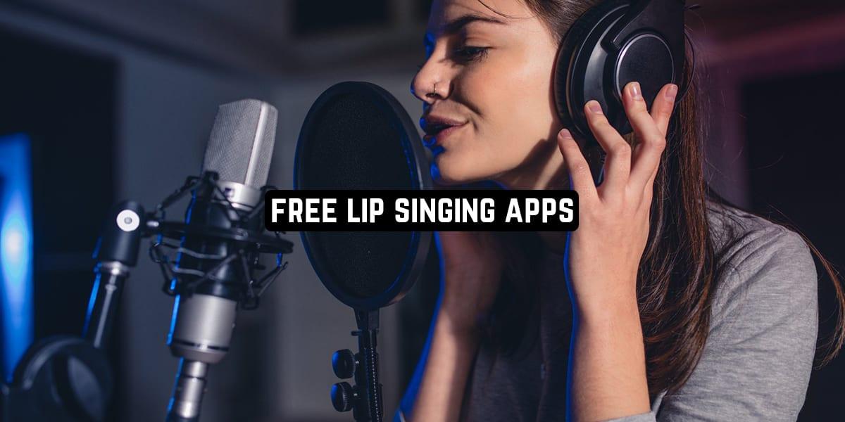 Free Lip Singing Apps