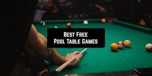 Free Pool Table Games