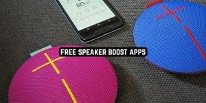Free Speaker Boost Apps