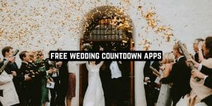 Free Wedding Countdown Apps