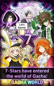 Gacha World screen 1
