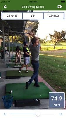 Golf Swing Speed Analyzer1