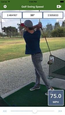 Golf Swing Speed Analyzer2