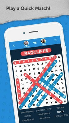 Infinite Word Search Puzzles by Random Logic Games2